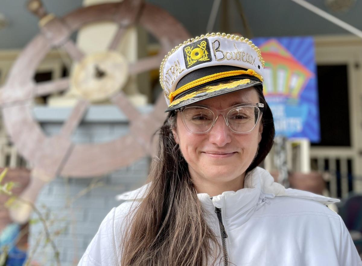 Megan Boudreaux is the person who sparked the city-wide Mardi Gras house float phenomenon .jpeg