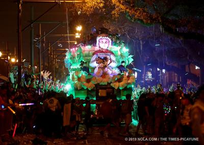 The superkrewe Endymion rolls Saturday evening: See the photos