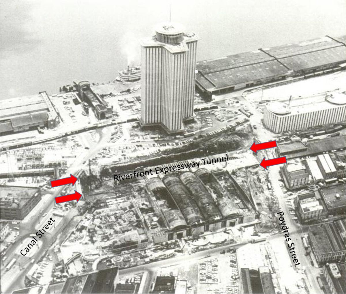 Tunnel vision: In 1966, New Orleans built a tunnel downtown hoping the traffic would come