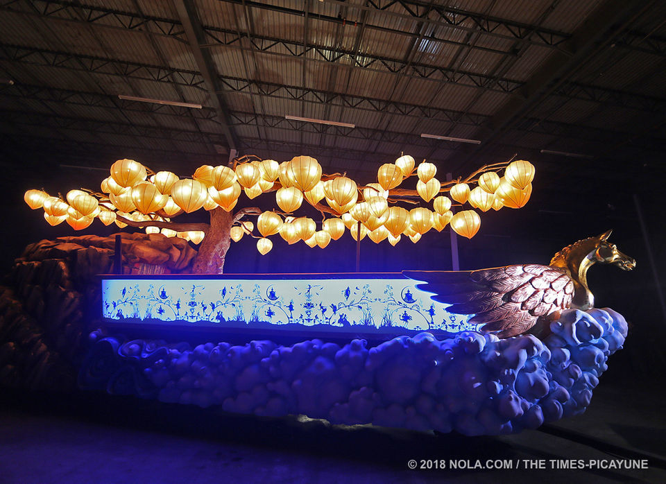 Muses' new Goddessey Mardi Gras float is seriously fabulous