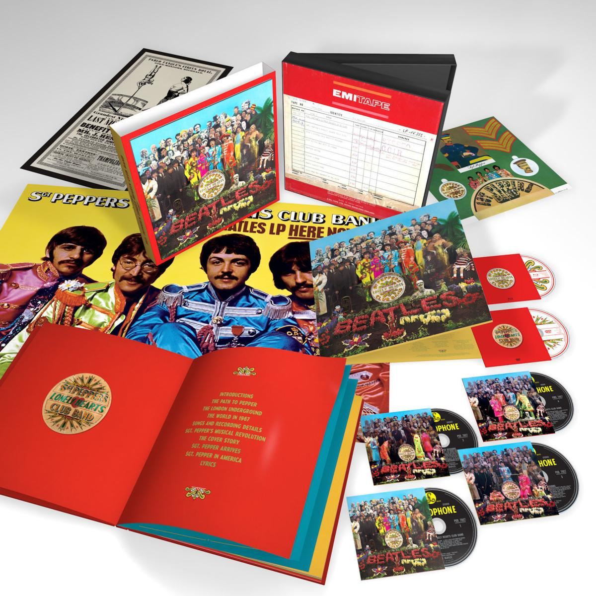 beatles sgt. pepper 50th anniversary edition