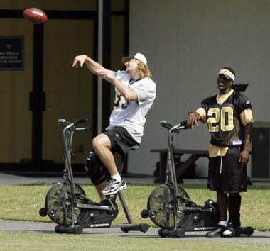 Dan Campbell's playing experience an asset in first season as Saints tight ends coach