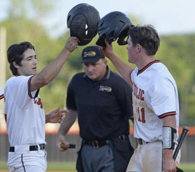 Waiting game ends for Parker Evans; Catholic pitcher shines as Bears beat Hahnville, wrap up second-round Class 5A playoff series _lowres