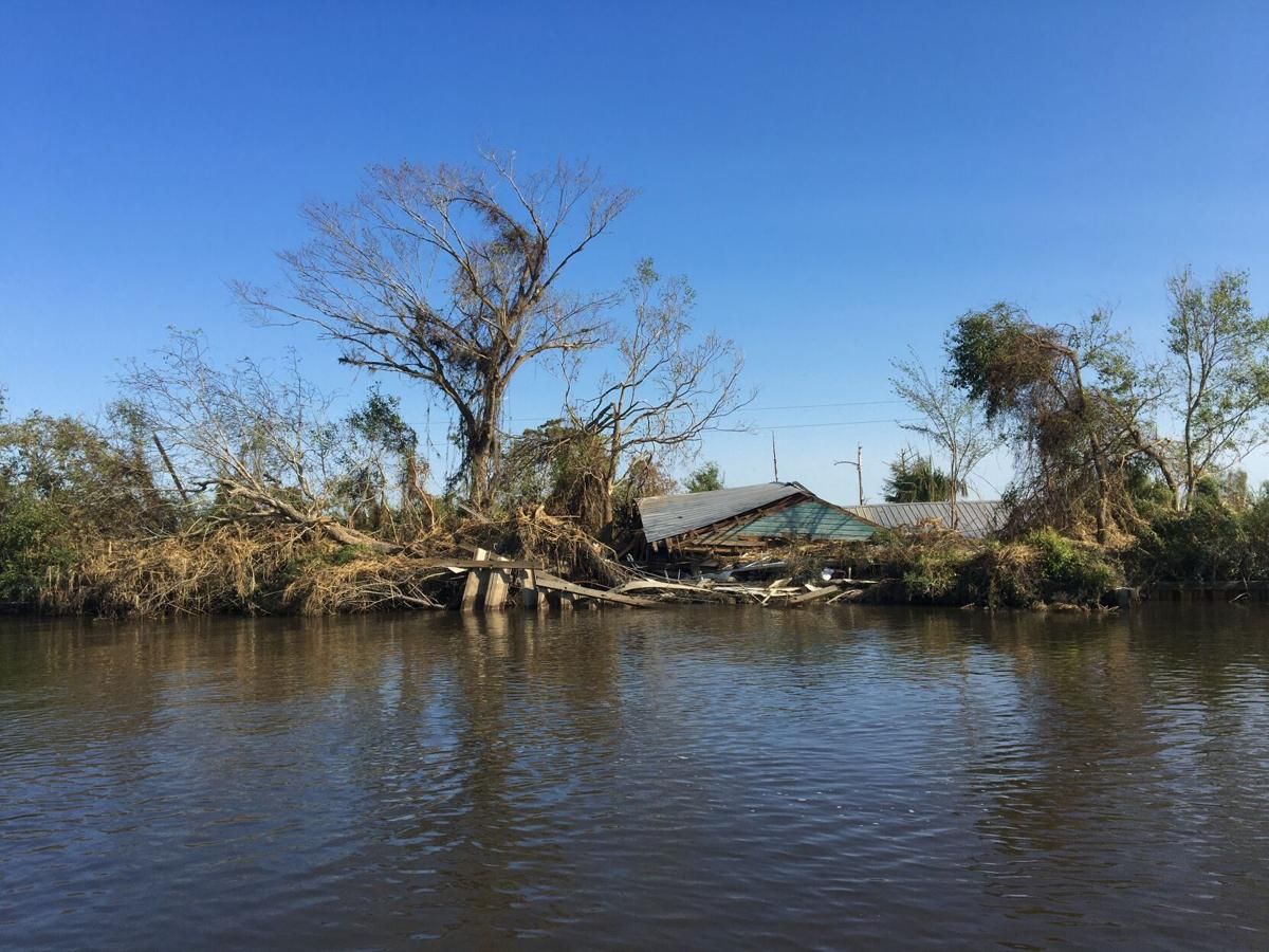 Manchac home destroyed by Hurricane Ida