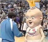 New Orleans Pelicans Creepy King Cake Baby Returns