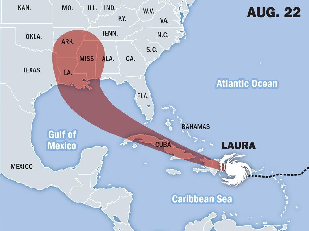 Laura storm map, Aug 22.jpg