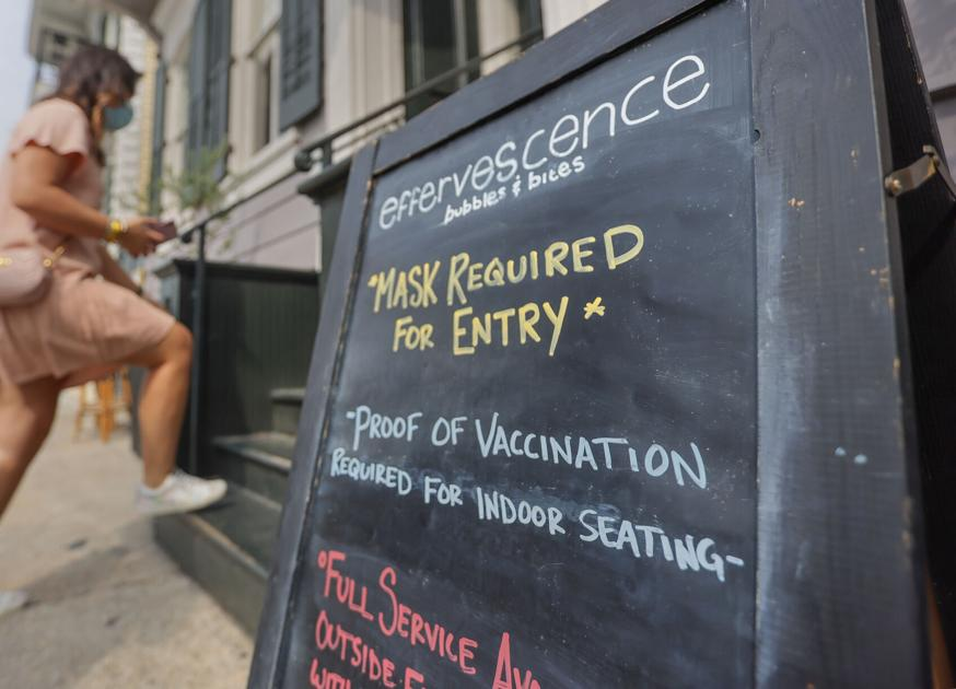 These New Orleans restaurants are now requiring proof of vaccination to fight COVID, stay open