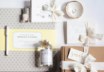 """""""She Said Yes"""" gift box by V. Paperie"""