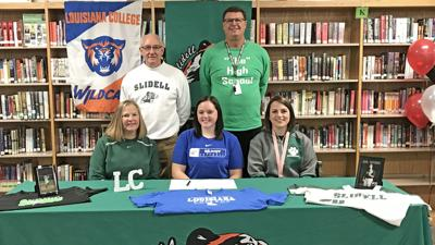 Slidell's Abby Whitworth signs with Louisiana College
