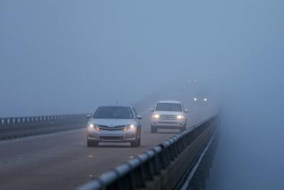 Foggy drive file photo
