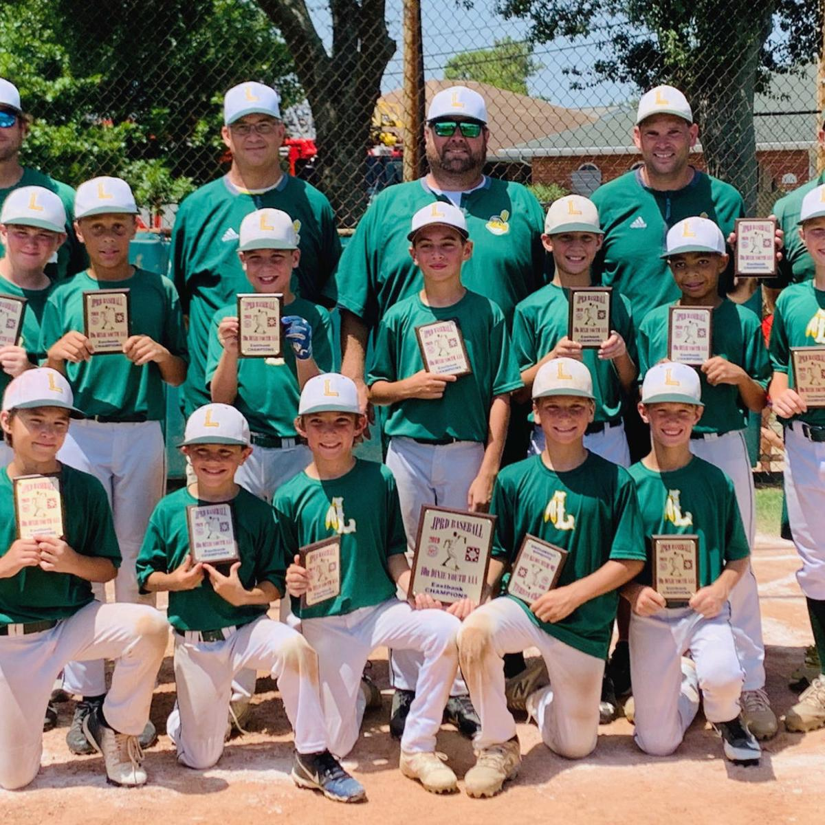 Lakeshore 9-10 Dixie Youth Baseball team wins second