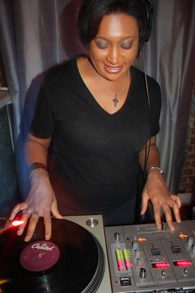 For 10 years, DJ Soul Sister has powered her 'Hustle' dance parties with 'rare groove' vinyl