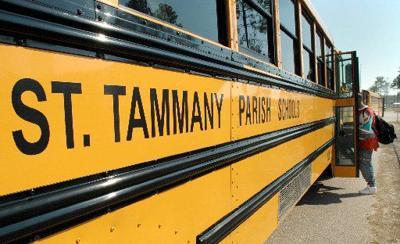 A St. Tammany Parish school bus.