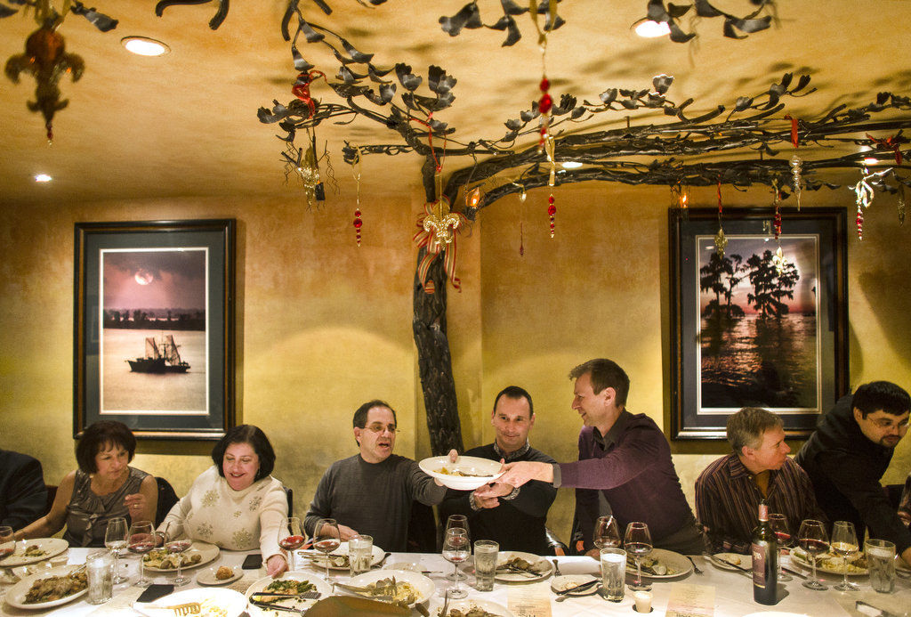 Feast of the Seven Fishes is an Italian-American Christmas Eve custom