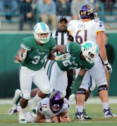 Bowl-bound Tulane defense rewarded with 4 players on all-conference second team