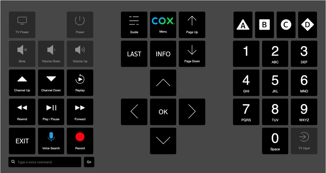 Cox introduces accessible remote