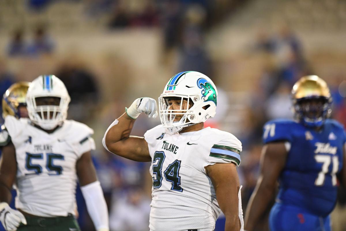 How Tulane's Patrick Johnson emerged as his team's leader in sacks while playing new position