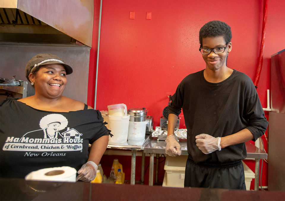 From the classroom to the waffle iron, students with disabilities join New Orleans' hospitality workforce
