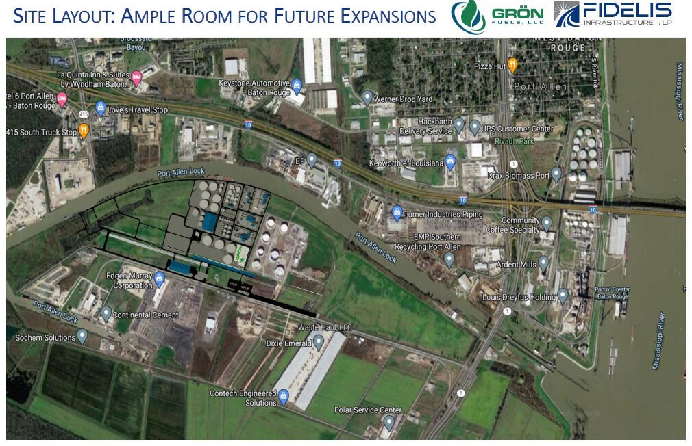 Another view of proposed Grön Fuels location