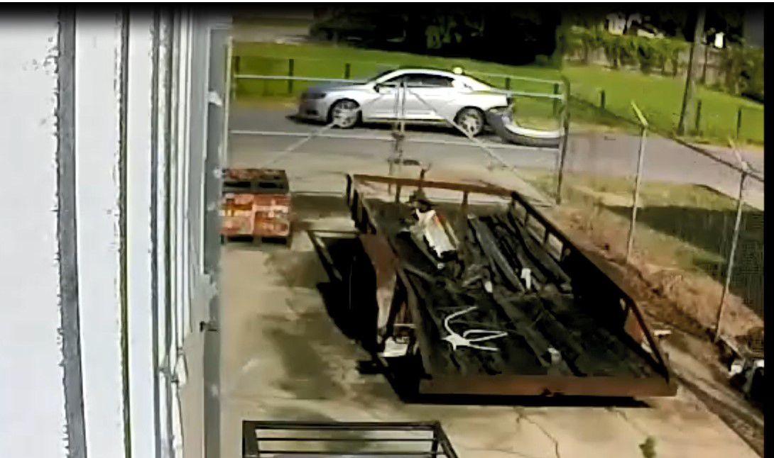 Marrero murder suspect vehicle