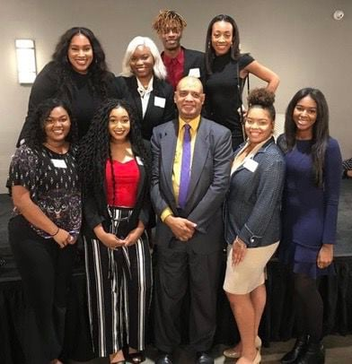 Loyola NABJ Chapter with Sutton