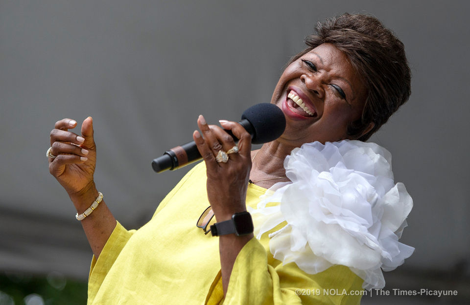 Mother's Day in New Orleans photos: Mardi Gras Indians, Irma Thomas at the zoo, Original Big 7 second-line