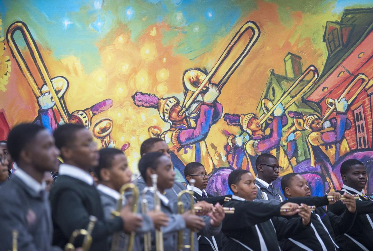 St  Augustine's Marching 100 band performance hall gets a