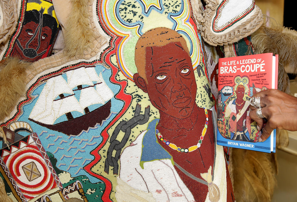 Created new each year, Mardi Gras Indian suits find more permanent homes