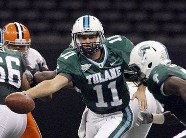 Tulane quarterback Ryan Griffin says going to the New Orleans Saints is a great fit