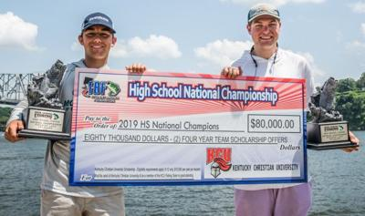 Christopher Capdeboscq and Sam Acosta (Bass Fishing National Champions)
