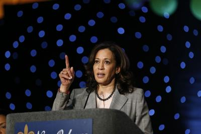 Kamala Harris in New Orleans: 'Leaders must speak truth'