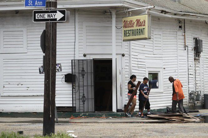 Floodwaters Hit New Orleans Restaurants Including Mondo
