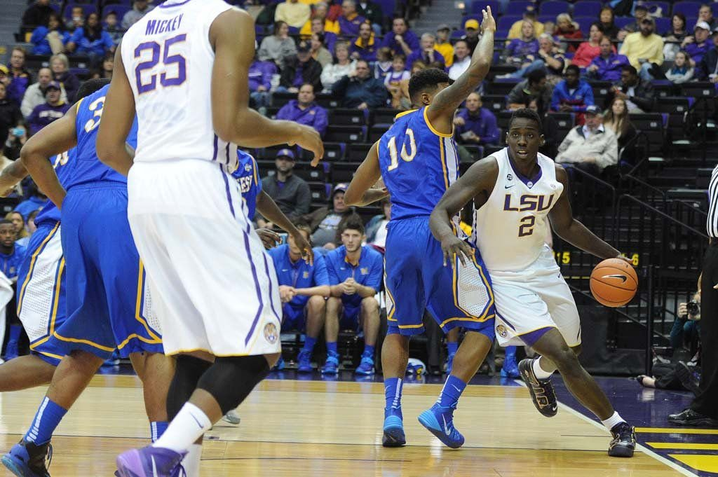 LSU overcomes a slow start to defeat McNeese State Saturday, 79-52