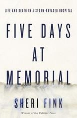 Book on Memorial Medical Center's post-Katrina tragedy optioned for movie by Oscar-winning producer