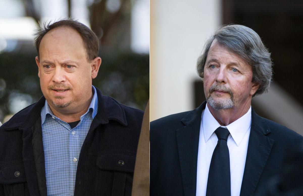 "Clifford ""Skip"" Keen (left) and David Hanson Sr. (right)"