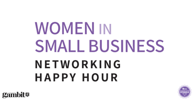 Women in Small Business Networking Happy Hour
