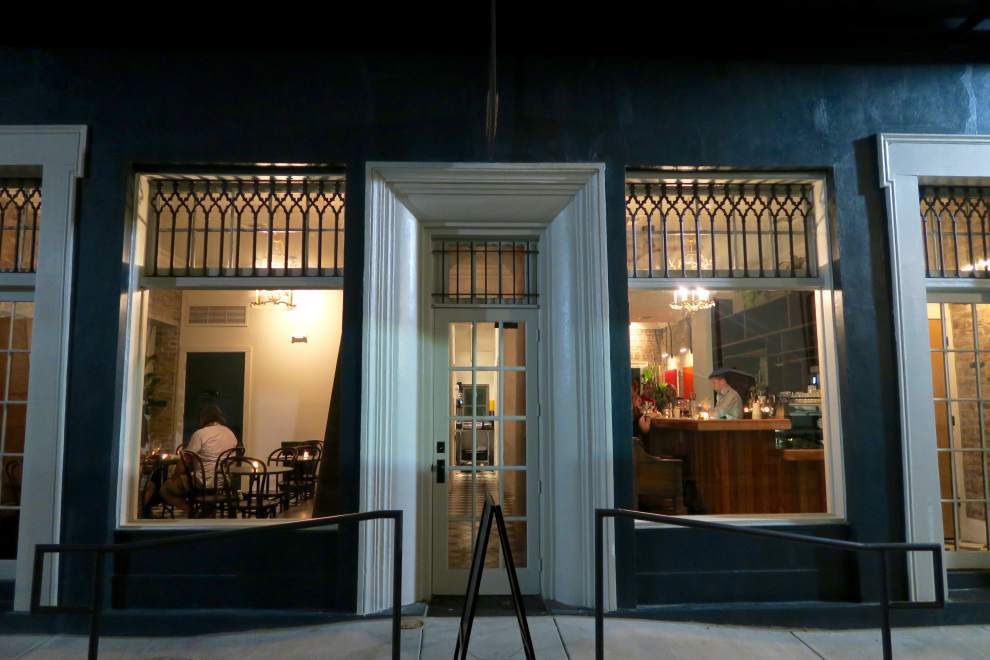 On a once-abandoned block, new CBD hotel and cafe has an old New Orleans feel, modern global flavors _lowres