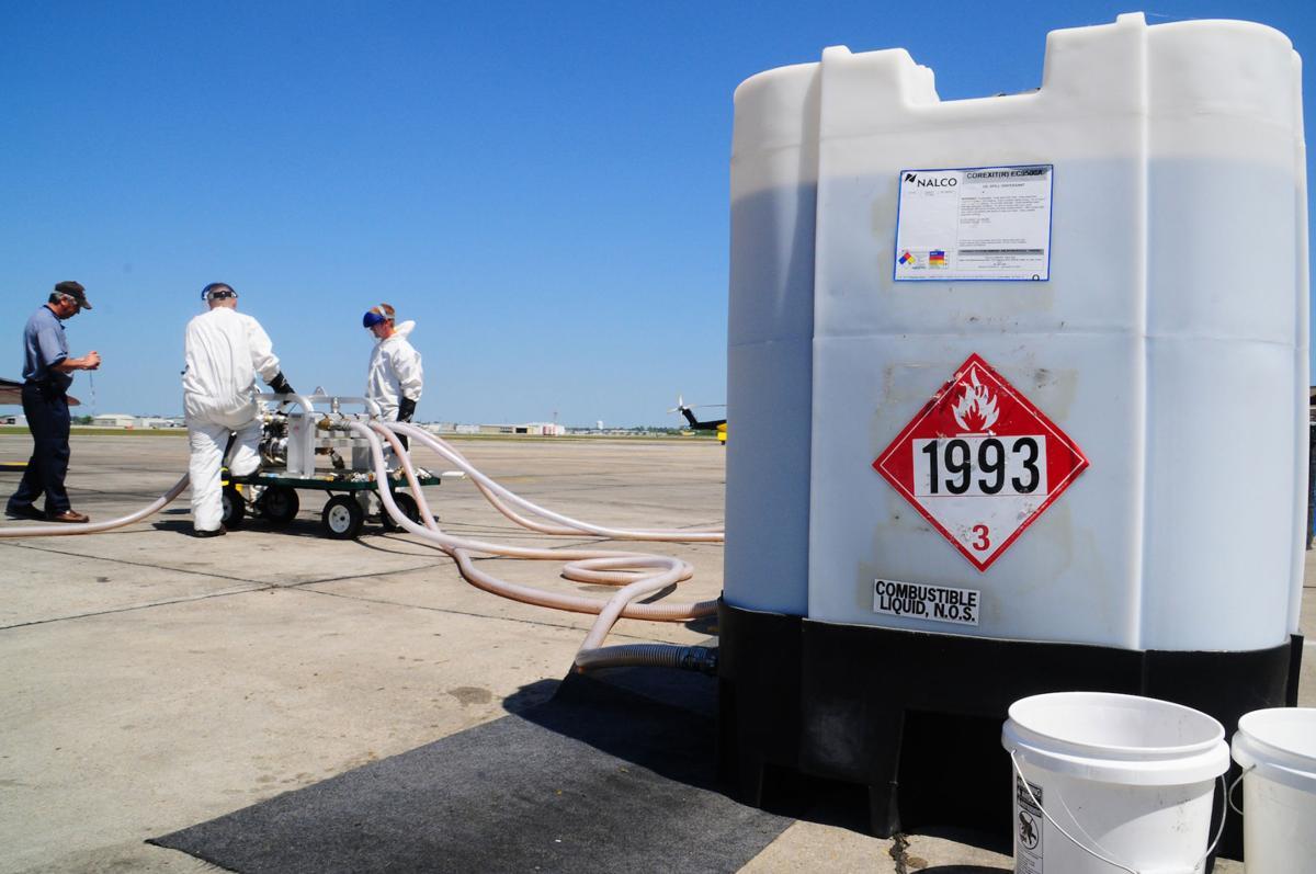Dispersant tank