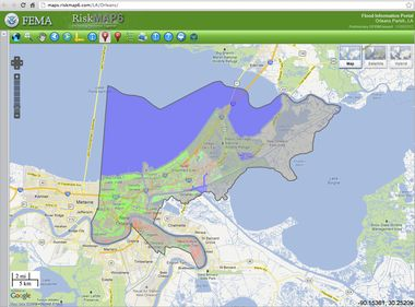New maps could be good news for many New Orleans-area flood ...