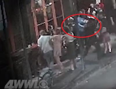 Watch: Comedian Andy Dick blindsided by punch outside New Orleans club