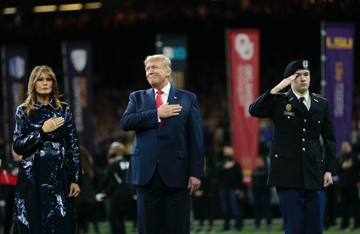 President Trump at CFP