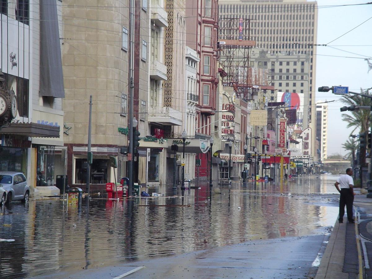 In light of the Brian Williams Katrina controversy: a brief history of French Quarter flooding