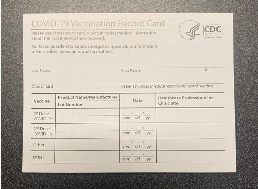 Counterfeit COVID-19 vaccination cards bound for New Orleans seized by U.S. Customs