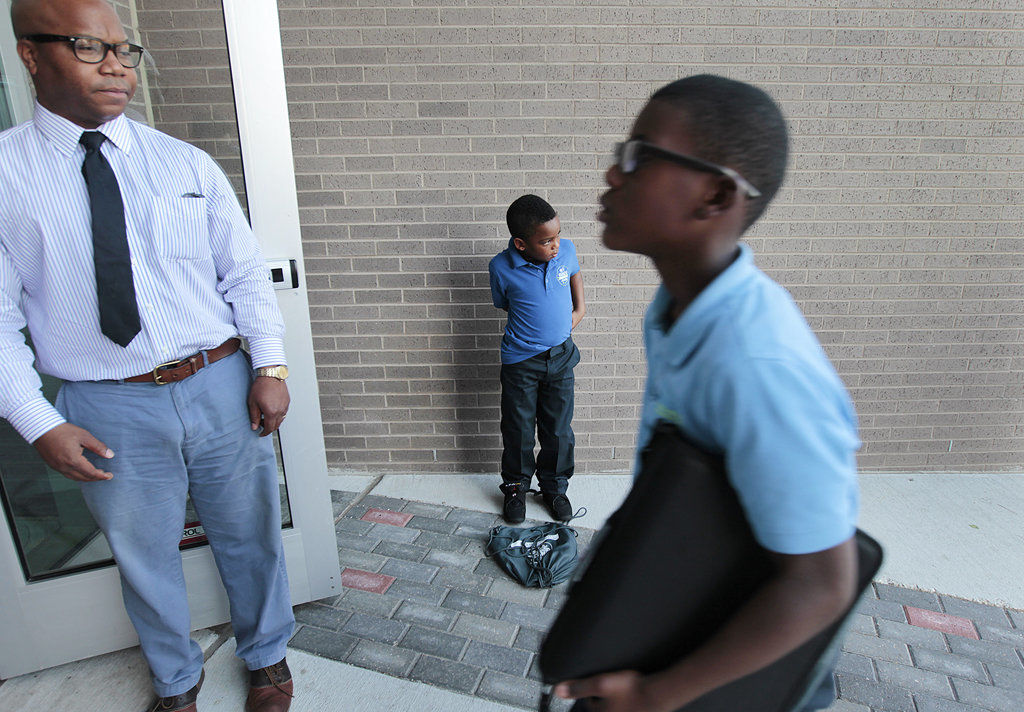 School uniforms: Another New Orleans area anomaly