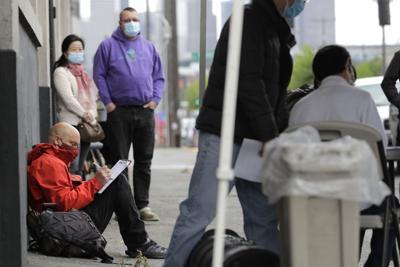 Coronavirus file photo of unemployment