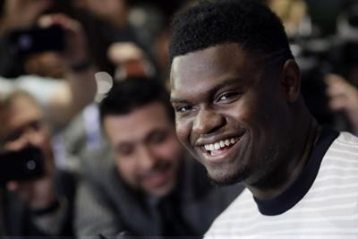 Zion Williamson sets the record straight on his first meal in New Orleans