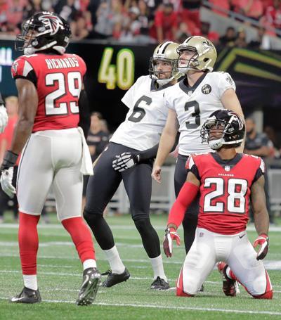Lutz 49 yard FG: Falcons vs. Saints 2018