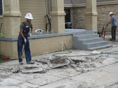 Rebuilding streets without green infrastructure won't keep us dry