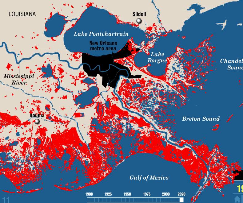 You're voting Nov. 6 on the survival of coastal Louisiana
