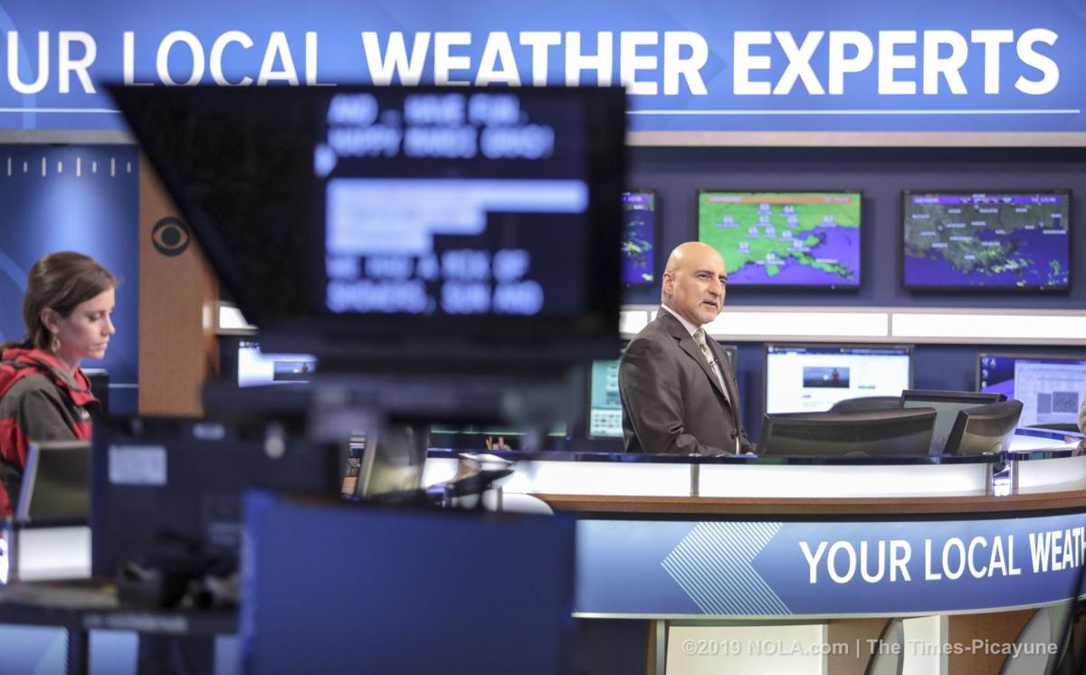 WWL-TV meteorologist Carl Arredondo